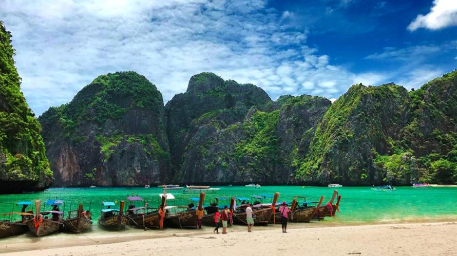 観光ブームの裏にオーバーツーリズム!タイのピピレイ島マヤ湾も!!